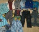 Пакет вещей для мальчика размер 104(4 года)