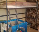 Кровать с матрасом IKEA