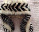 Новая шапка с норкой