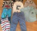 Рубашки кофты штаны майки
