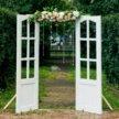 Двери арка для свадебной церемонии