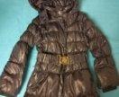 Пальто зимнее для девочки, 122р.