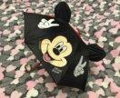Зонт детский с ушками Мики Маус d-52 см