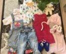 Вещи для девочек от 1 до 3 лет