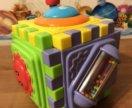 Куб-коврик для развития моторики малыша, 0+