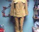 замшевый костюм