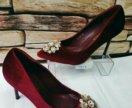 Мега круты женские туфли велюр