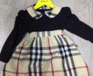 Платье brbry рост 98 на 2-2,5 года