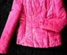 Яркая курточка жакет на тонком синтепоне