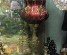 Настольная лампа антик