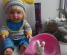 Красивая куколка+музыкальный горшок