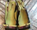 Итальянские кожаные босоножки