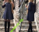 Платье с ангоркой новое