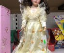Кукла керамическая