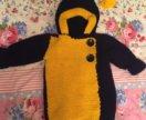Новое Пальто потом кофта ручной работы с 1-4 года