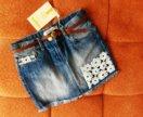 Юбка джинсовая ❤4-5 лет