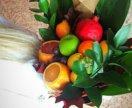 Букты из фруктов, овощей.