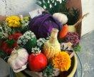 Овощные букетики
