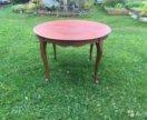 Старинный круглый обеденный стол из Голландии