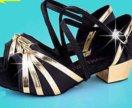 Туфли для спортивно-бальных танцев, НОВЫЕ!!! 23 см