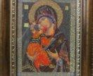Владимирская икона Божией Матери бисером