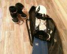 Сноуборд+ботинки+чехол