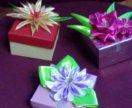 Подарочные коробочки.
