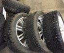 Комплект резина + диски для Форд r17