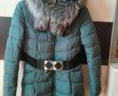 Зимнее пальто/куртка на халофайбере
