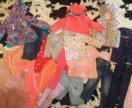Пакет одежды для девочки на 1,5-2 г. Zara next Hm
