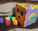 Куб сортер развивающий игрушка