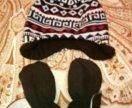 Шапочка+рукавички