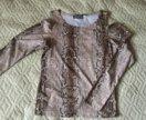 Кофточка с открытыми плечами. 44, 44-46 размер