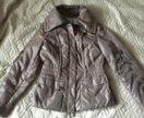 Приталенная куртка. Почти новая. 44-46 разм.