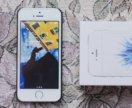 iphone se 64gb silver, на гарантии