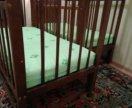 2 Кроватки детские для близнецов с матрасом