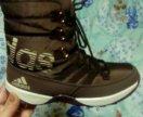 Новые Ботинки адидас зимние