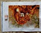 Вышивка Львы