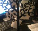 Металическое дерево для фото