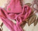 Комплект шапка , шарф