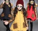 Куртки детские на 3-4 года и 9-10