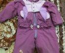 Комплект Курта и штанишки на девочку