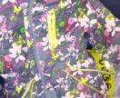Куртка-парка на девочку 104см