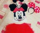 Наряд на годик Minny mouse