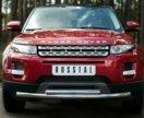 Защита переднего бампера Land Rover Evoque