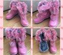 Ботинки зимние 32 новые