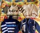 Новые 3 свитера+комплект жилетка/свитер