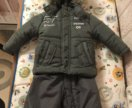 Куртка и полукомбинезон 74 (костюм зимний )