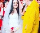 Свадебный наряд на хеллуин
