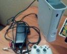 Xbox 360 +игры HD 10Gb